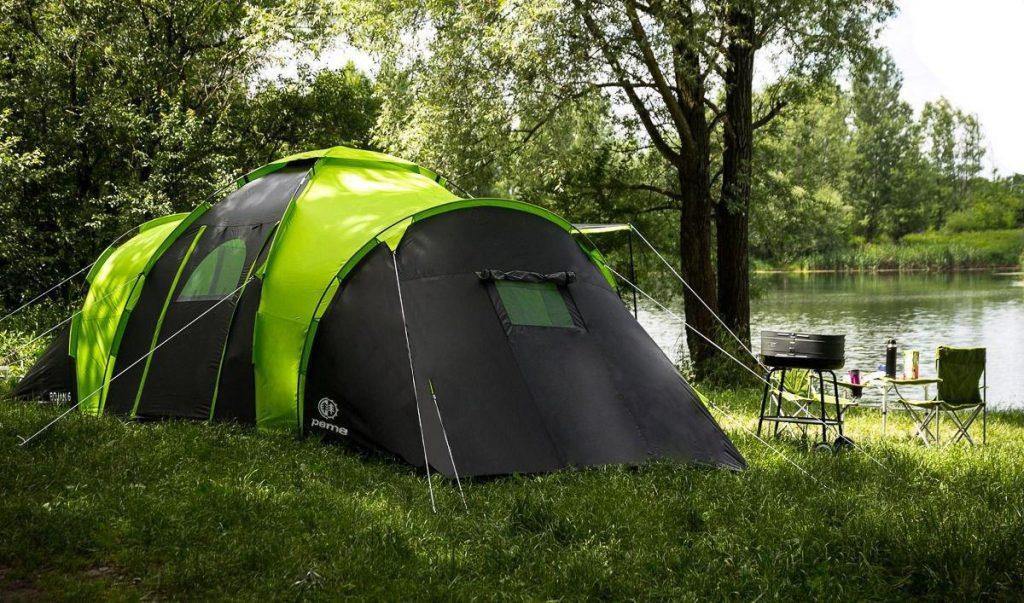 практичный подарок - палатка