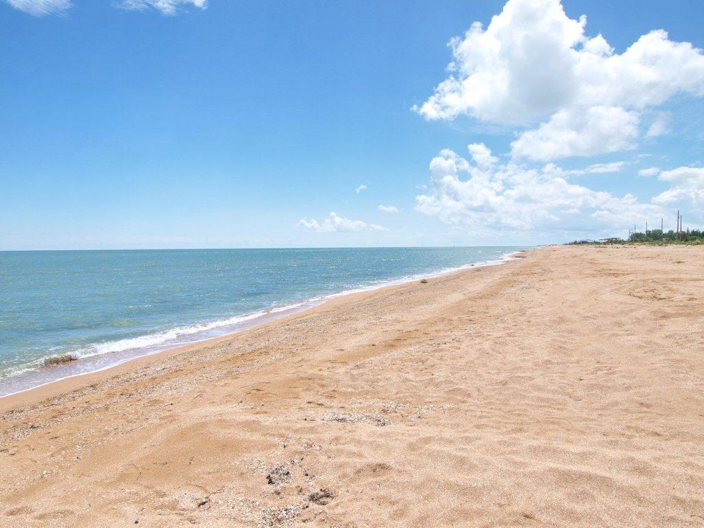 пляж у Генічеську