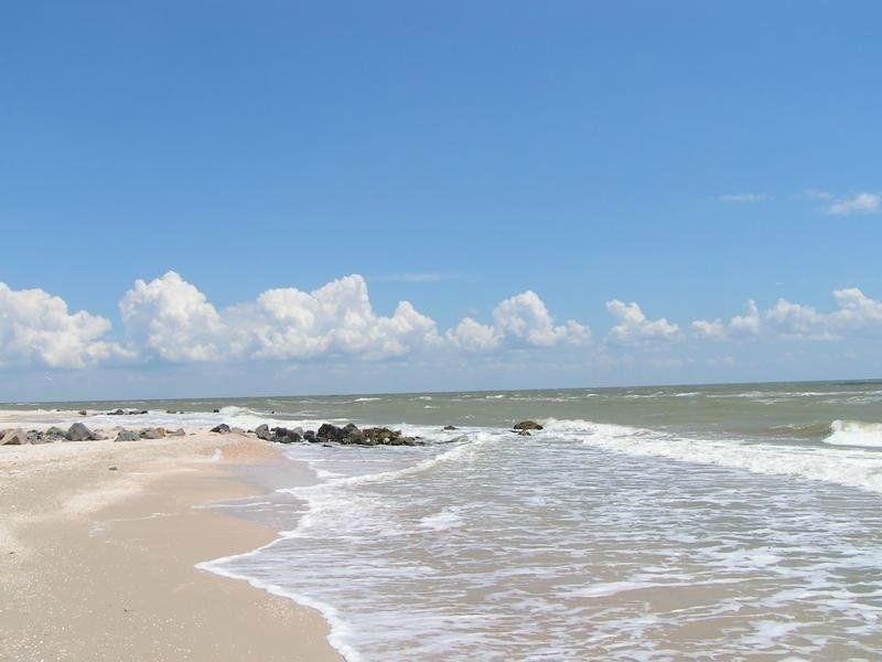 Курортный регион Степок, пляж на Азовском море