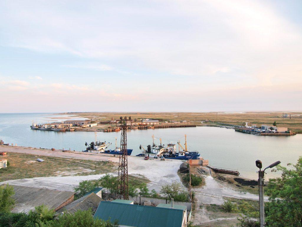 порт у Генічеську