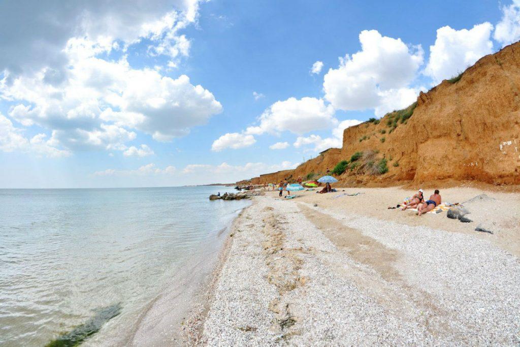 Пляжный отпуск в Степановке Первой