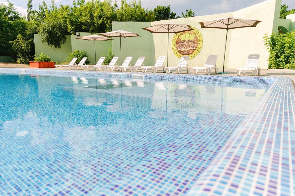 Отдых у бассейна в «Зеленом кампусе»