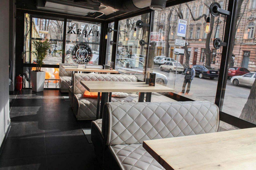 кафе Гараж сети Буфет Столовая в Одессе