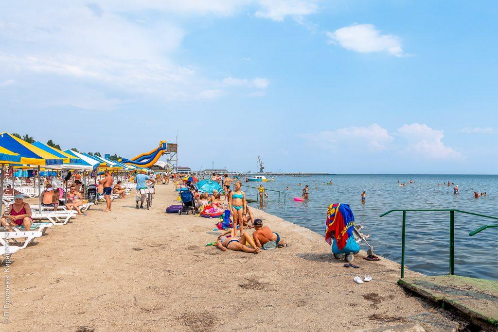 пляжи скадовска
