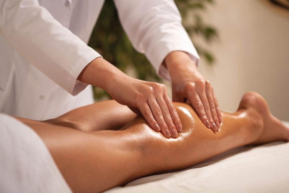 Ручний лімфодренажний масаж ніг