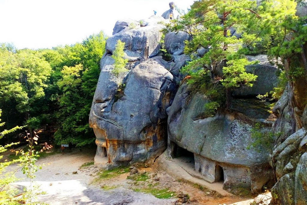 Пещерный комплекс Скалы Довбуша, Ивано-Франковская область