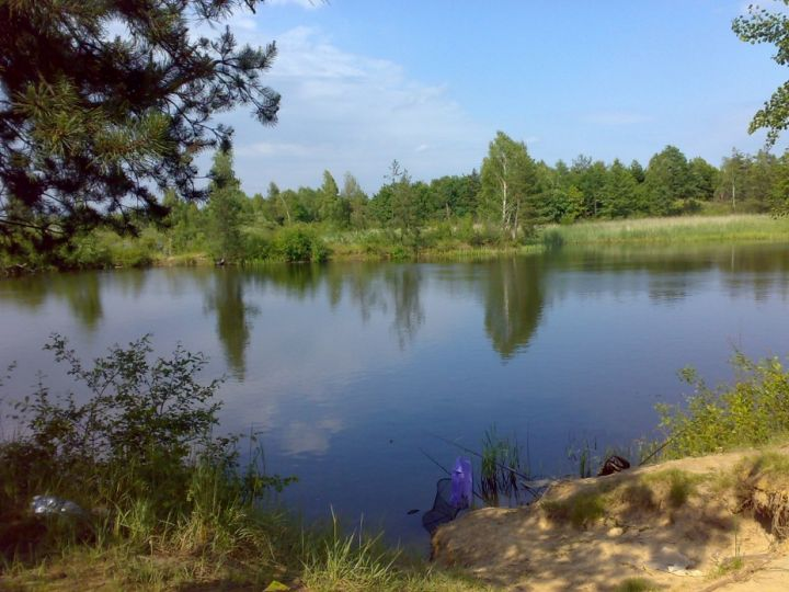 Грушев, Завадовское водохранилище