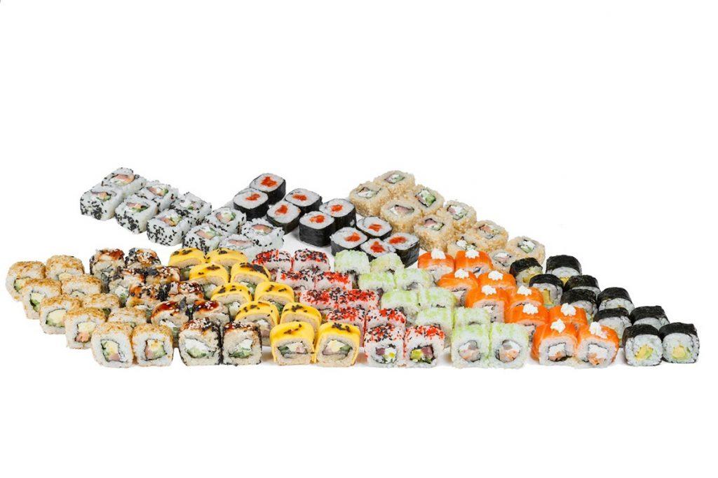 Мікс від суші-бару «Japanika»