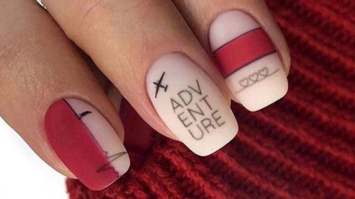 Написи на нігтях: Подорож