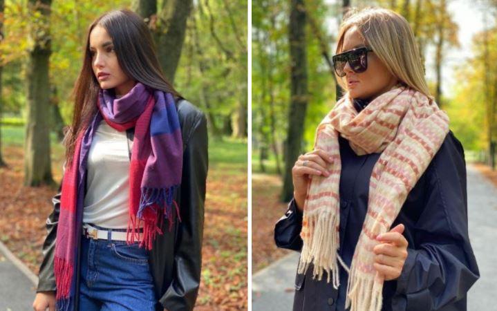 Як просто і модно намотати шарф