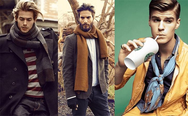 Чоловічі шарфи та хустки