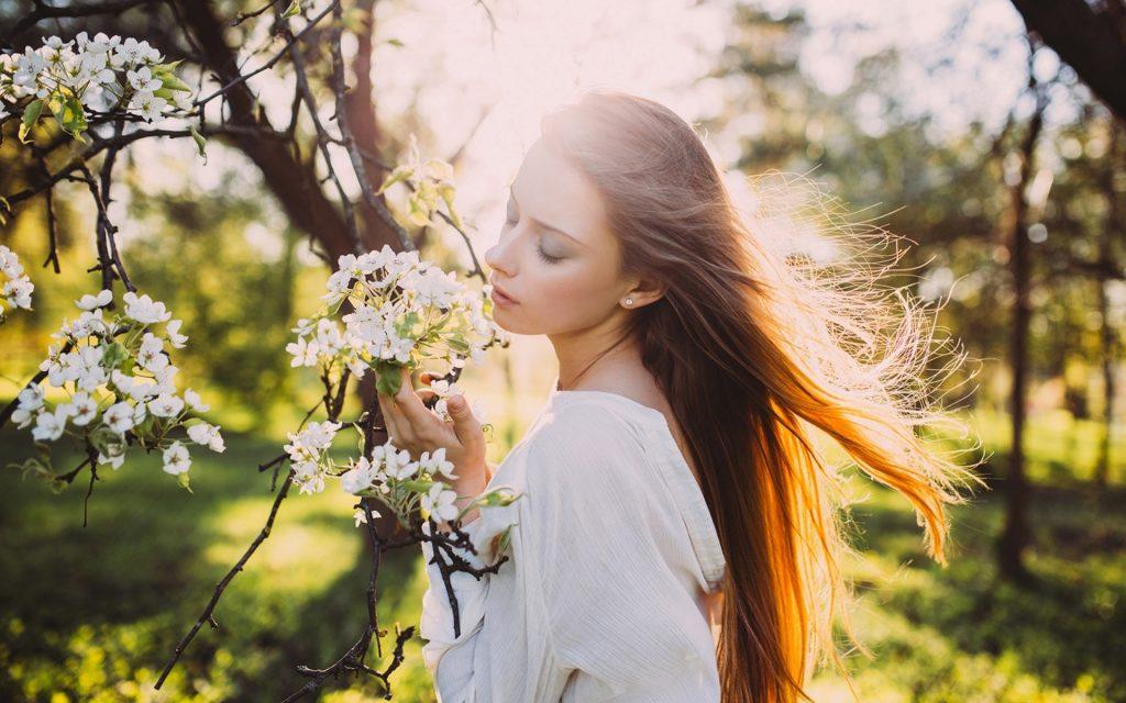 фотосесія під час цвітіння