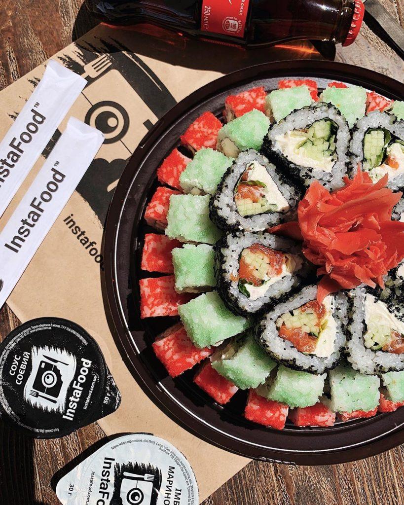 «Instafood» суши