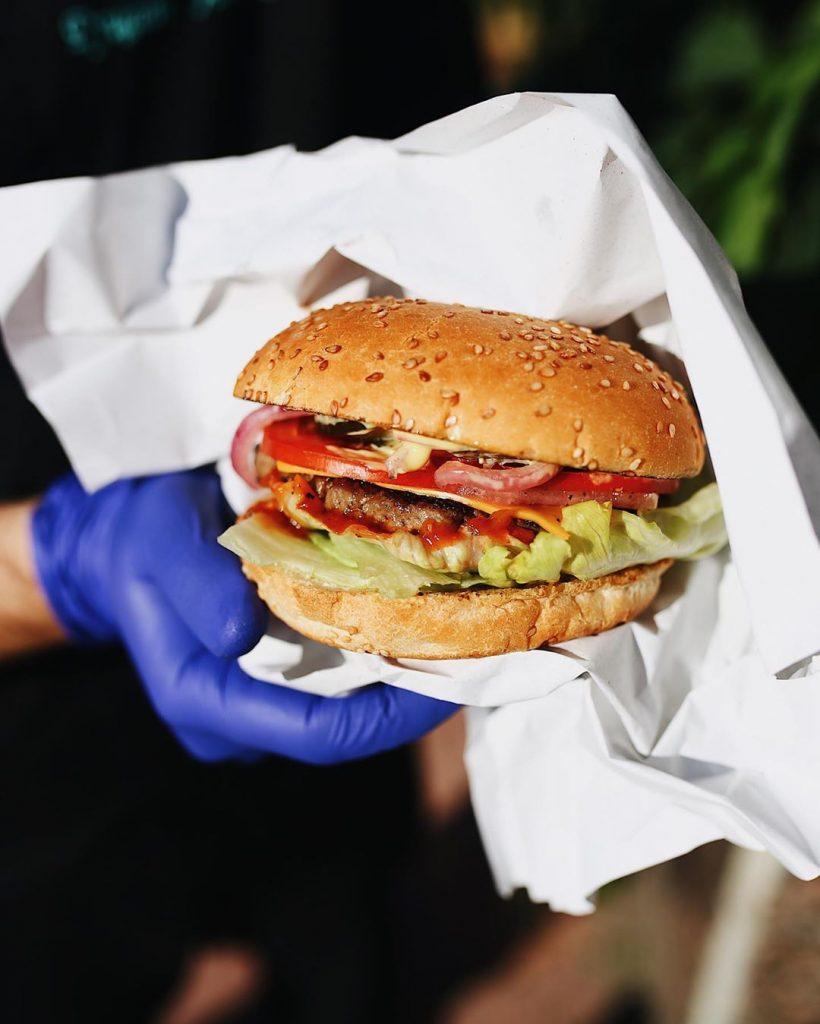 «Instafood» бургер