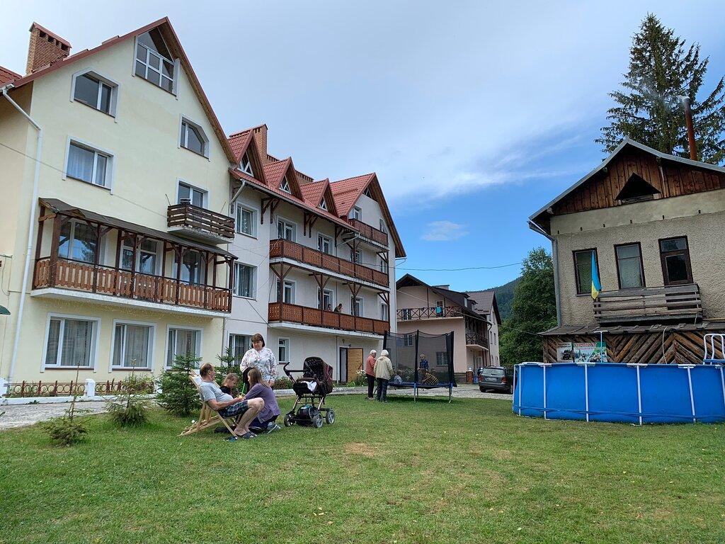 База отдыха «Калина» летом, курорт Славское, Карпаты