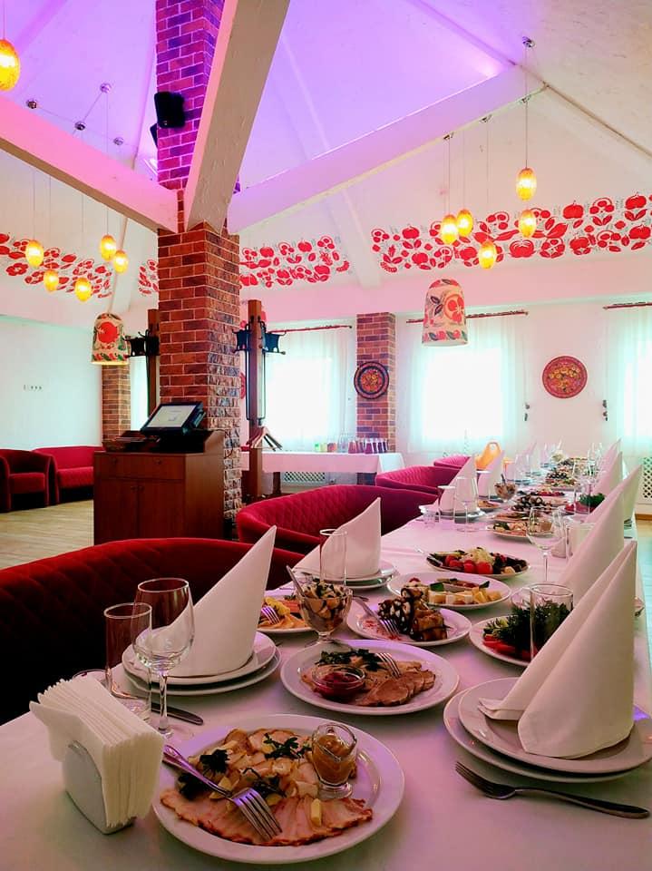 Интерьер ресторана «Козачок»