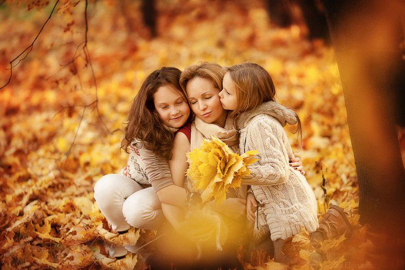 Осенняя фотосессия на школьных каникулах