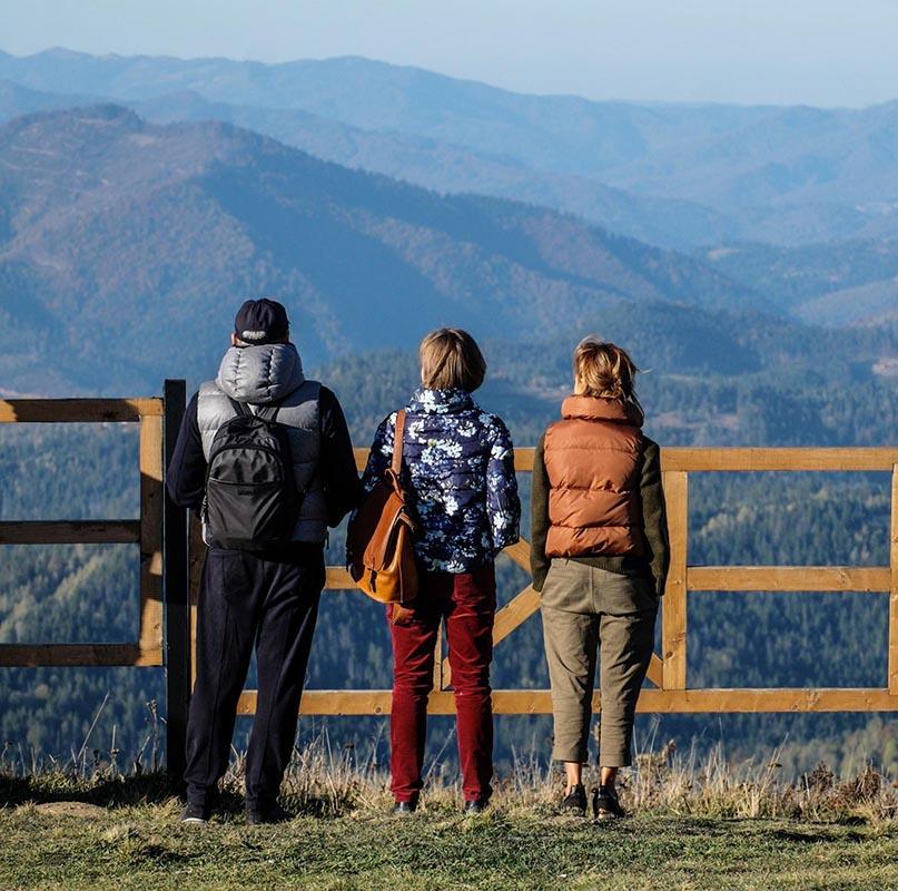 Вид на гору Високий Верх, Славське