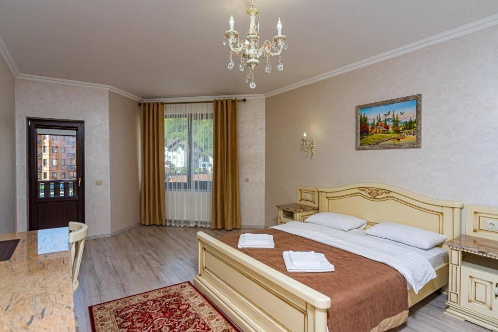 Номер стандарт, готель «Diamond», Поляниця Івано-Франківської області