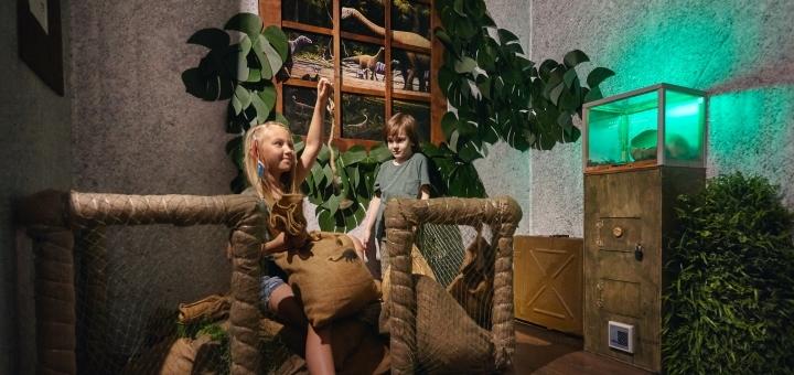Квест «Прогулянка з динозаврами»