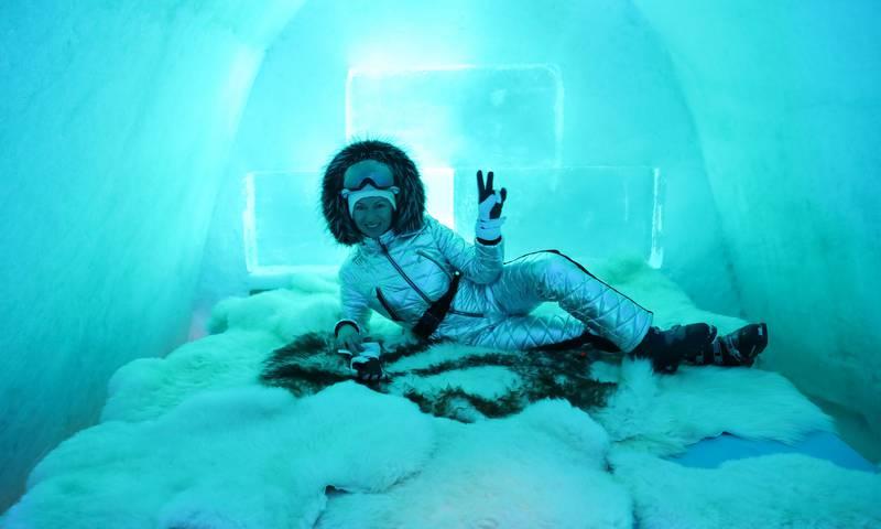 Отель из льда «Ice Land» – спать придется при -5oC