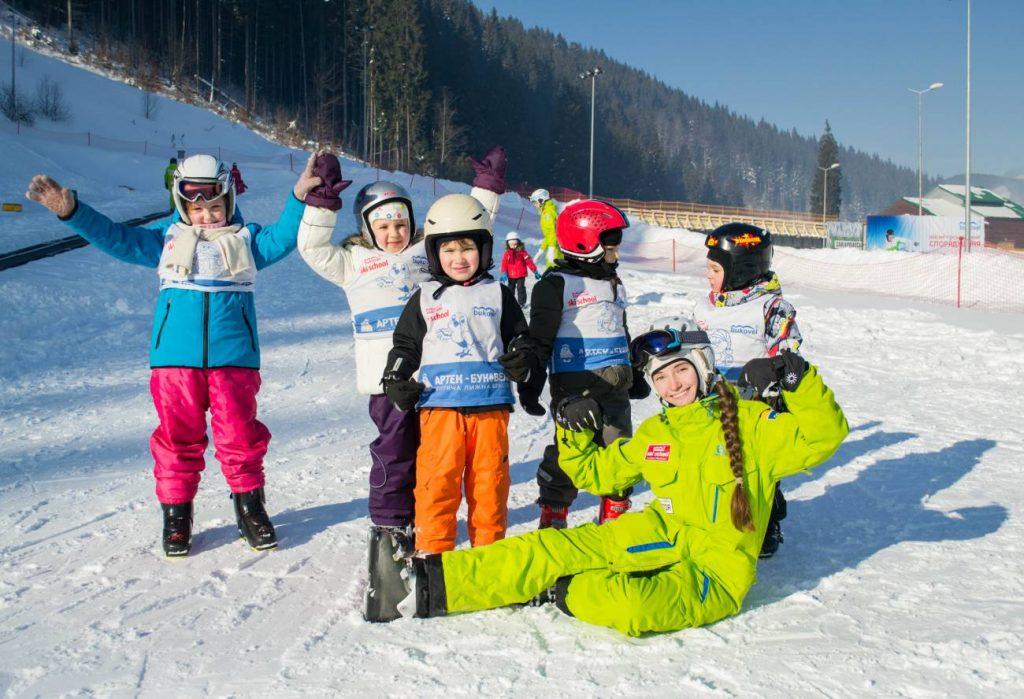 Зимний детский лагерь «Артек» в Буковеле