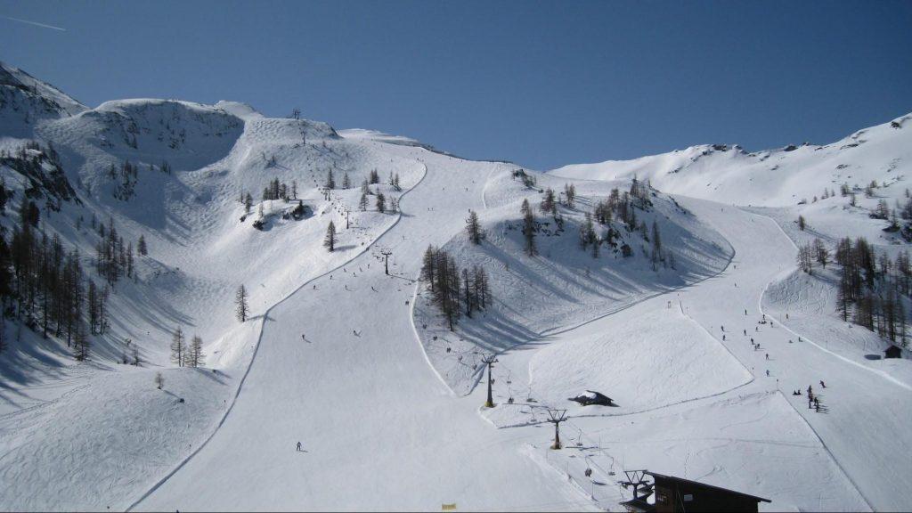 лыжные спуски