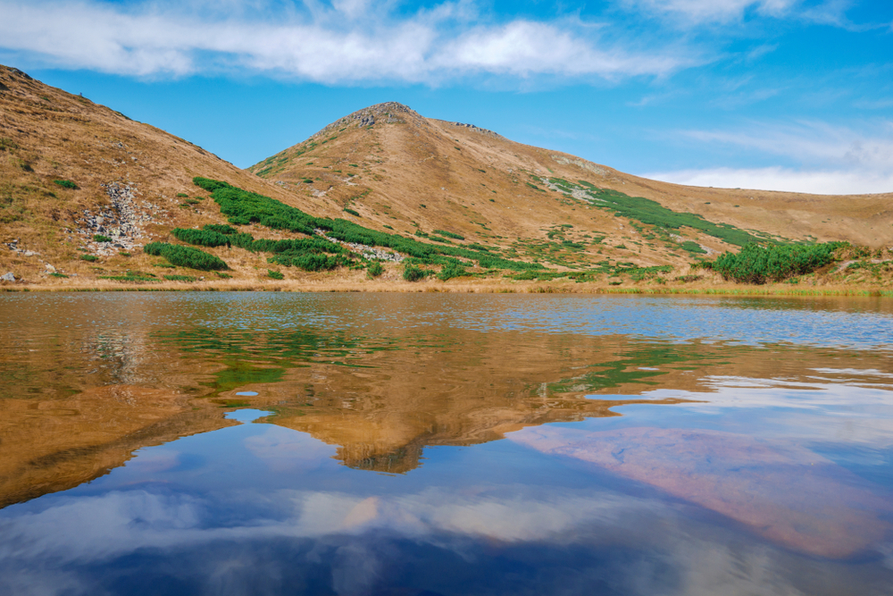 Поход и экскурсия на Говерлу и озеро Несамовите, 42 км от Буковеля