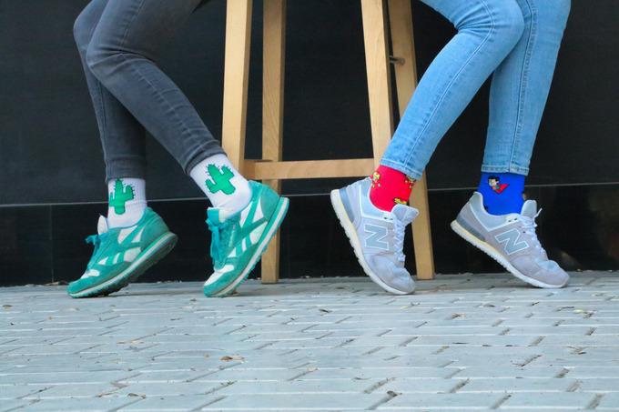 Принтовані шкарпетки