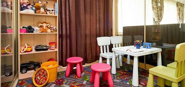 Детская комната в ресторане «Приорка»