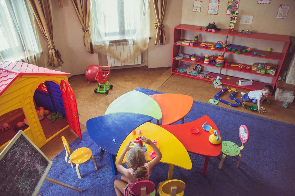 Дитяча кімната в готелі «Срібний водограй», Поляна, Закарпатська область