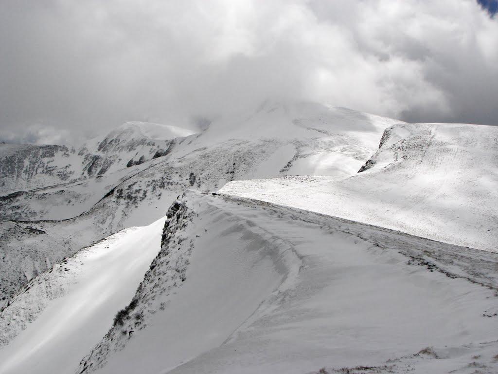 Траси для сноубордистів, гірськолижний курорт Драгобрат, Карпати