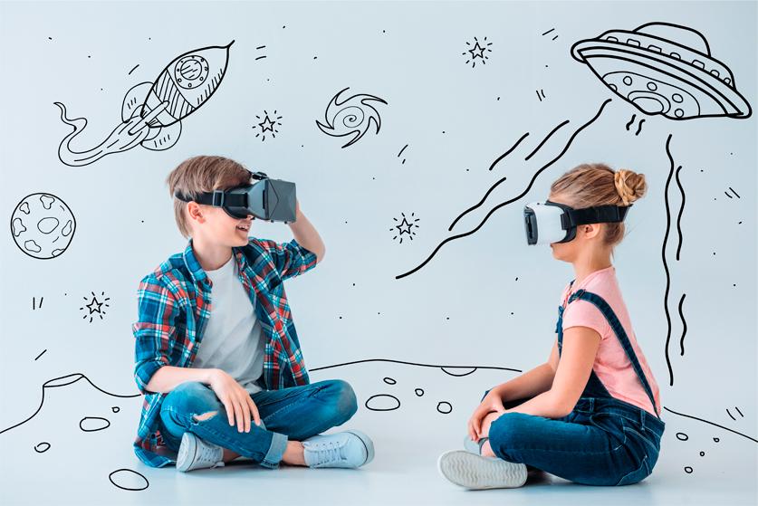 Міні день народження в VR клубі