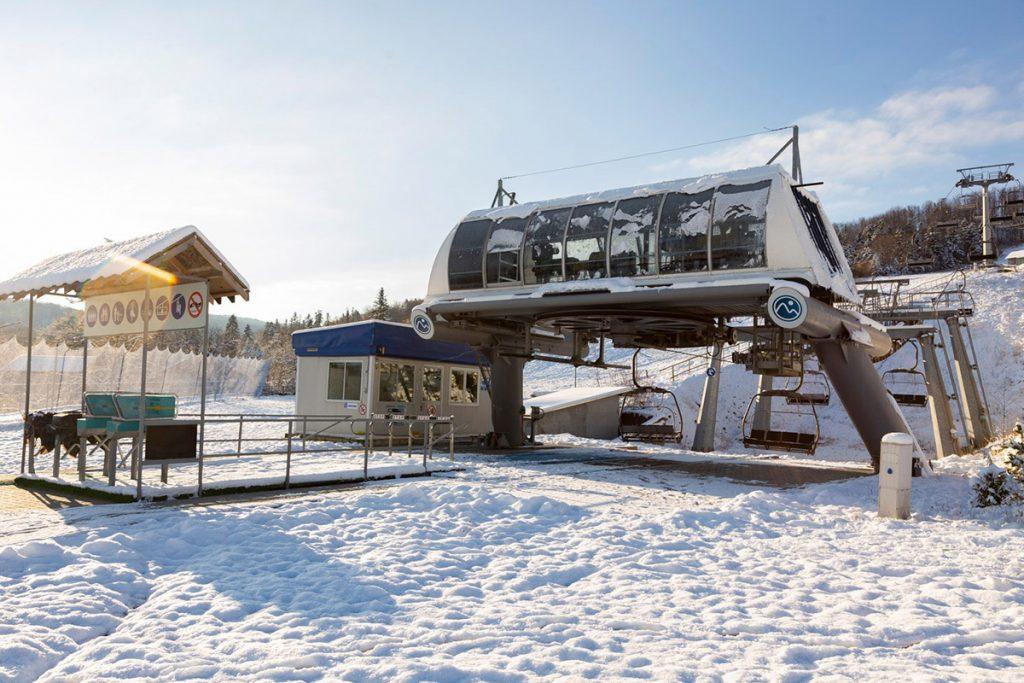 Ski pass на гірськолижному курорті Буковиця,недалеко від Трускавця
