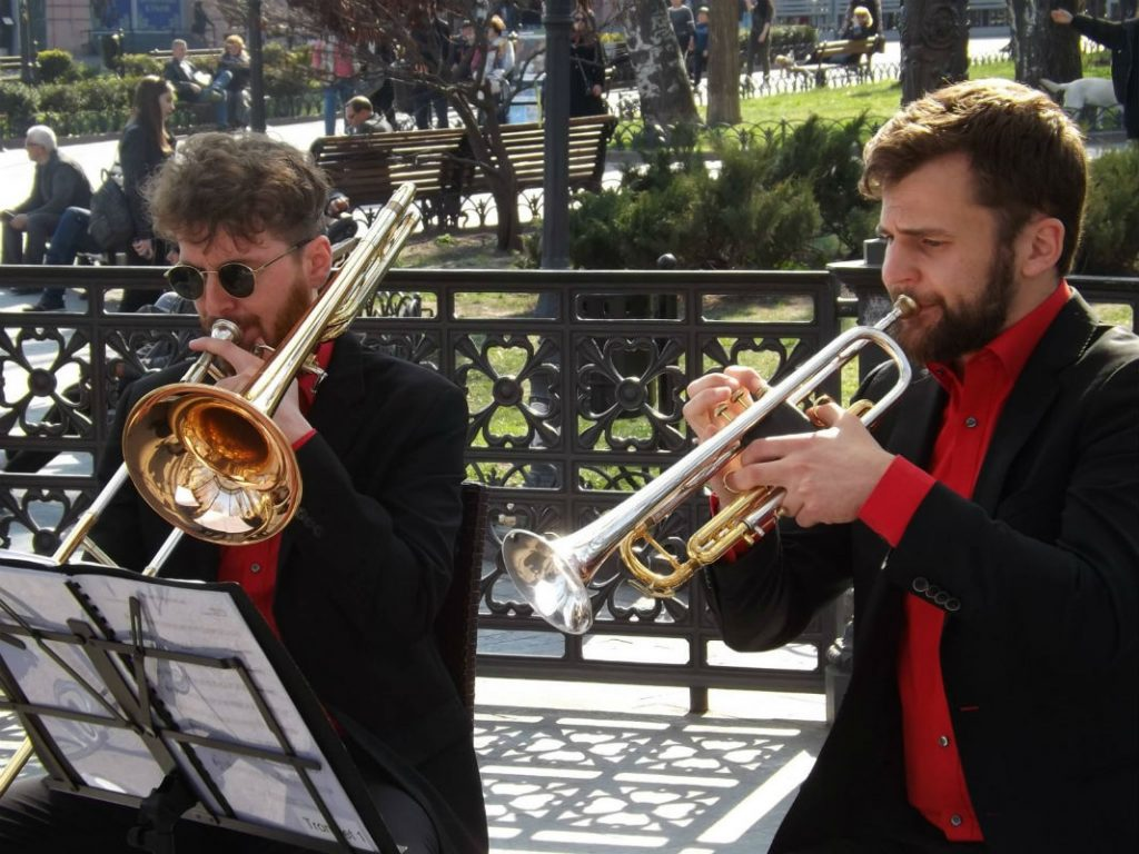 Музичний концерт в Міському саді безкоштовно