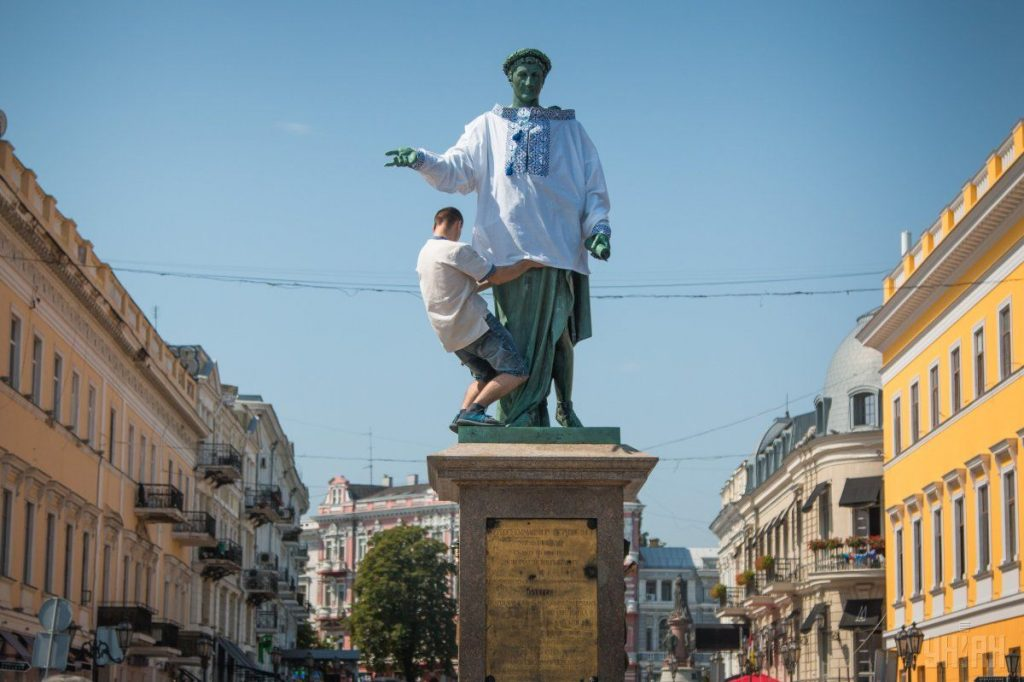 Герцог де Рішельє в день Незалежності України