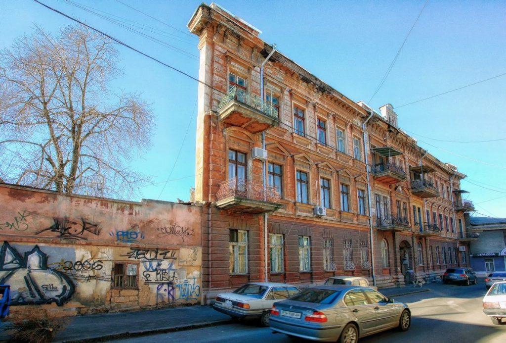 Прибутковий будинок на Воронцовському провулку, 4