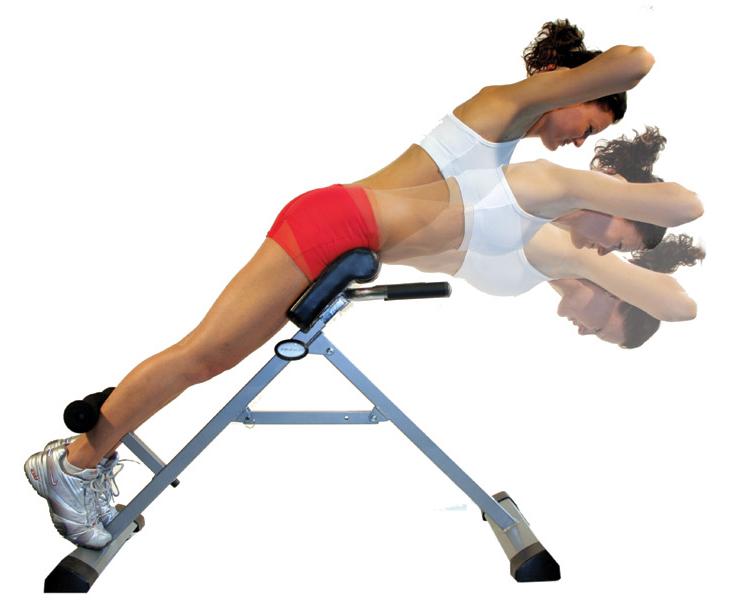 Для мышц разгибателей спины и ягодиц