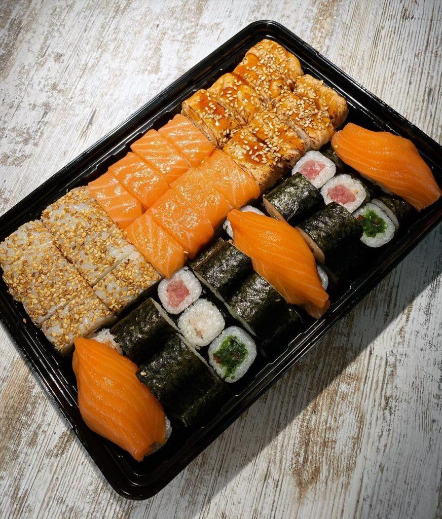 Меню «Eco Sushi»