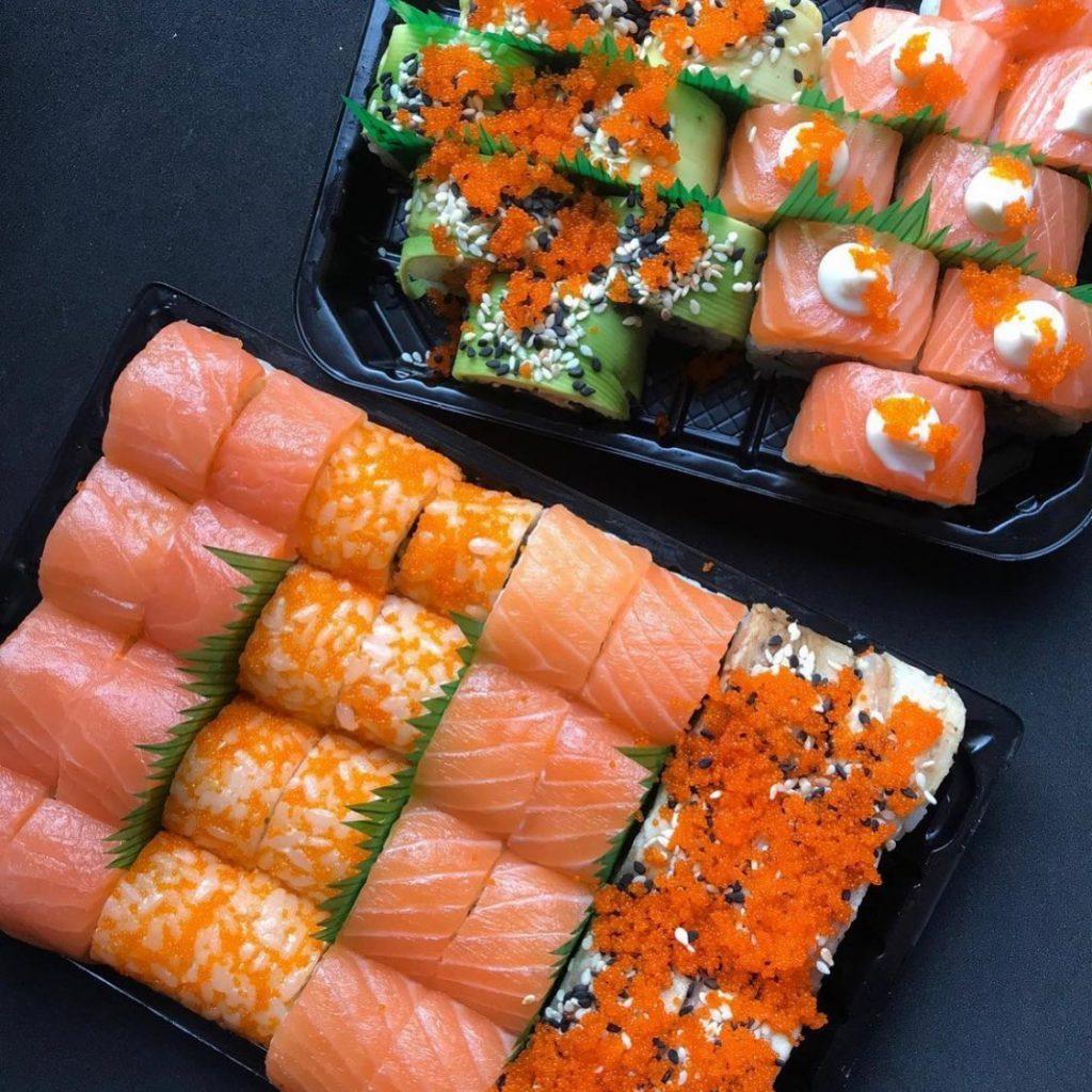Роли від «Кіото Sushi & Pizza»