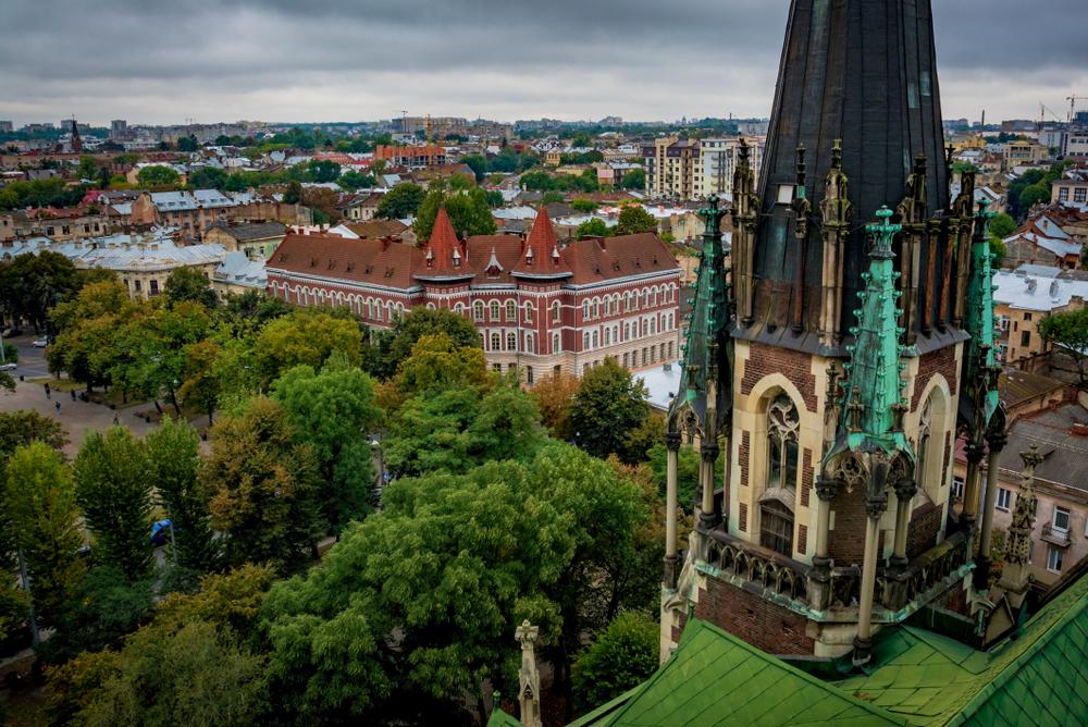 Яскрава архітектура Львова: неоготичний храм Святої Ельжбети