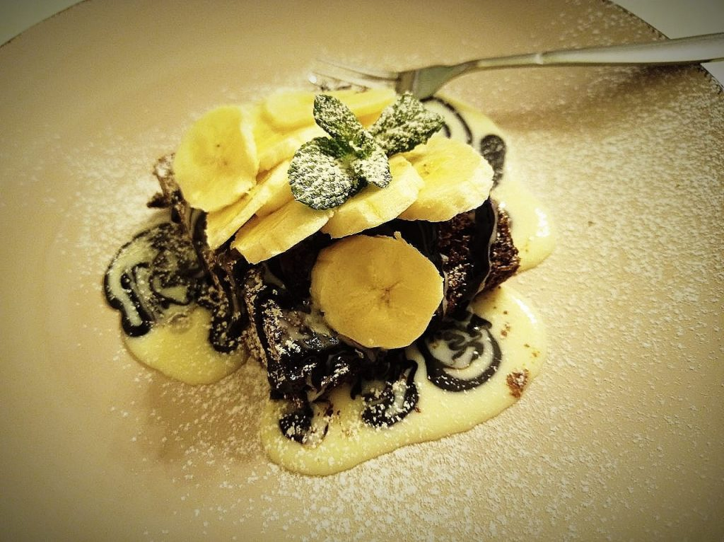 Десерт від ресторану «Сімоне»