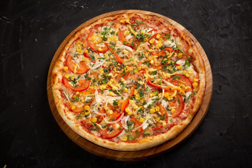 Піца від служби доставки «Суші Сет»
