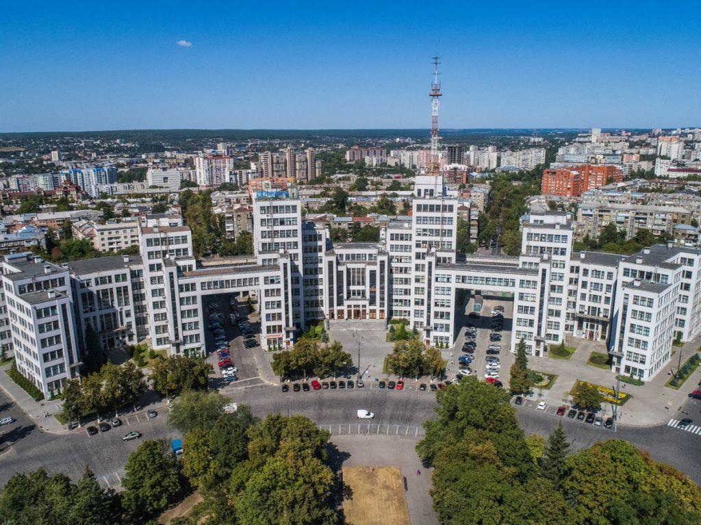 Монументальный символ Харькова