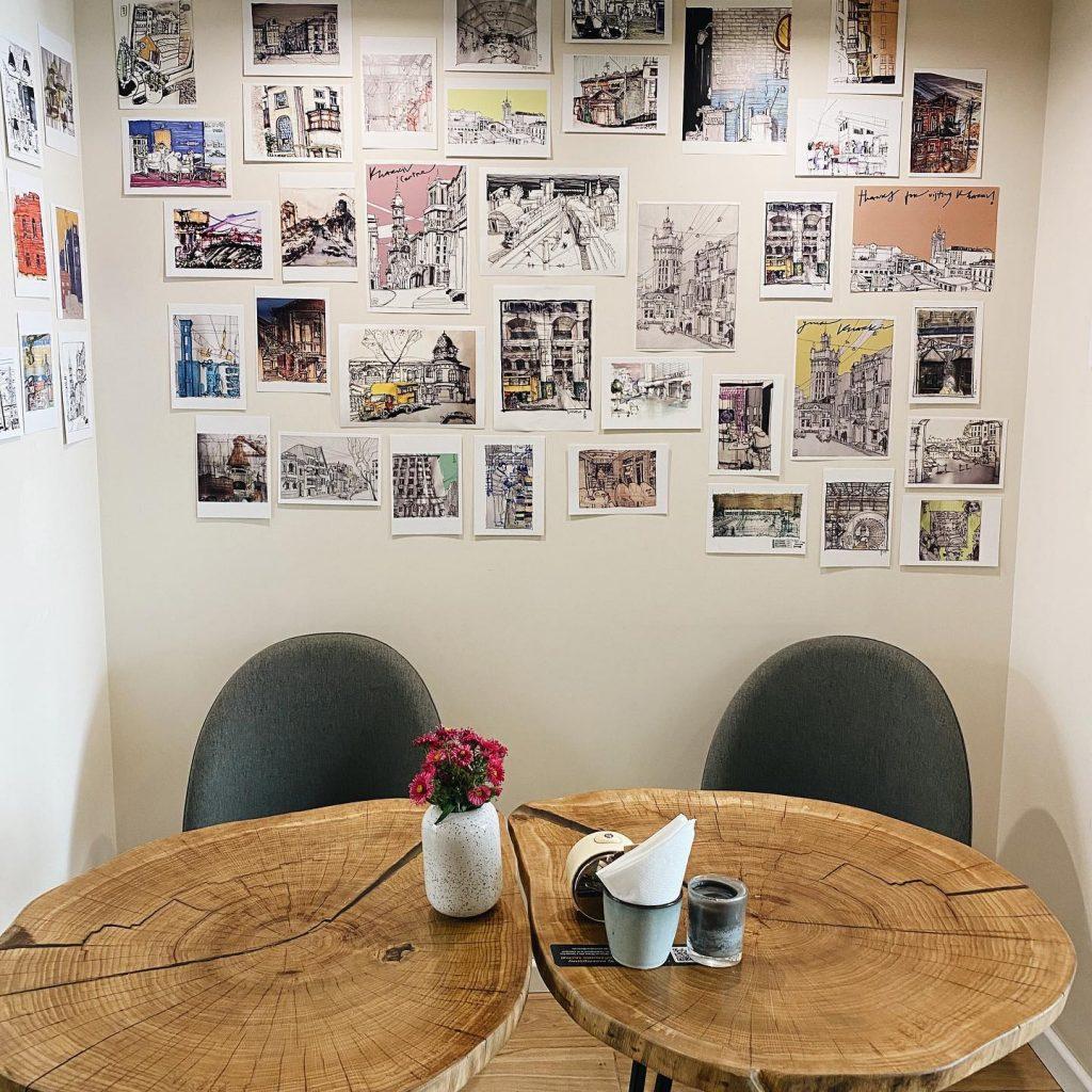 Уютная кофейня в центре