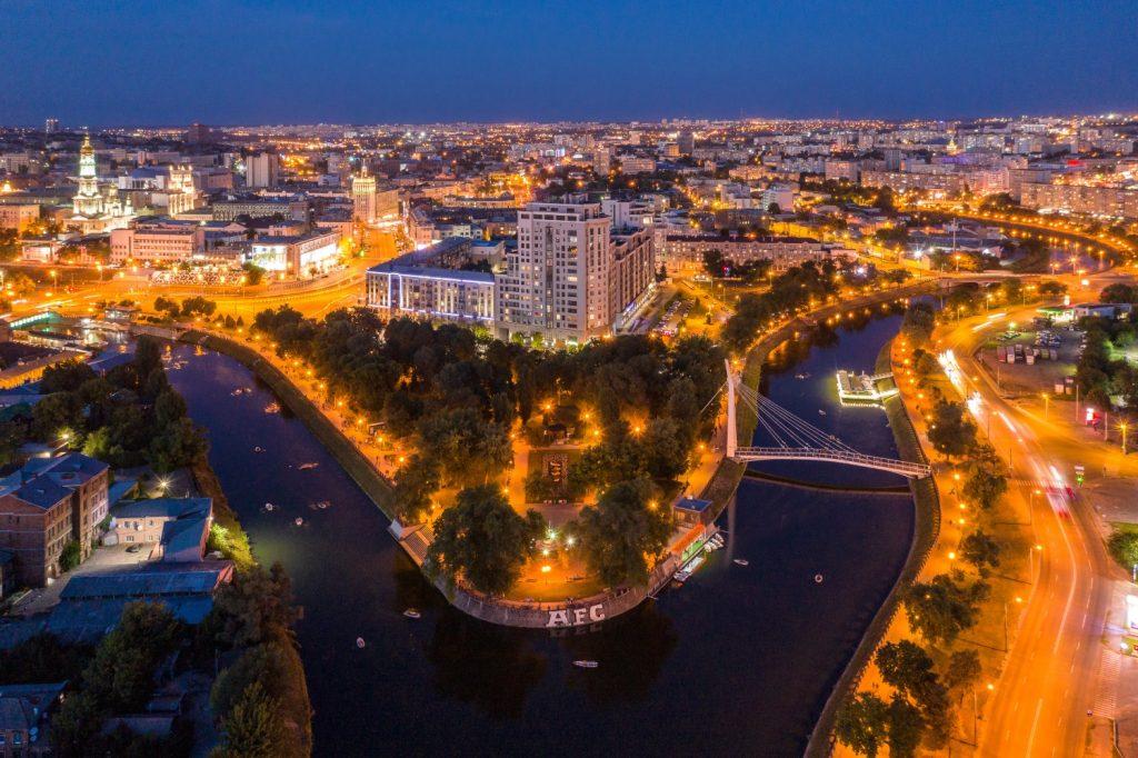 Набережные рек и мосты города