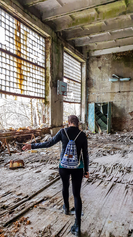 Емоційна подорож в Чорнобильську зону в травні