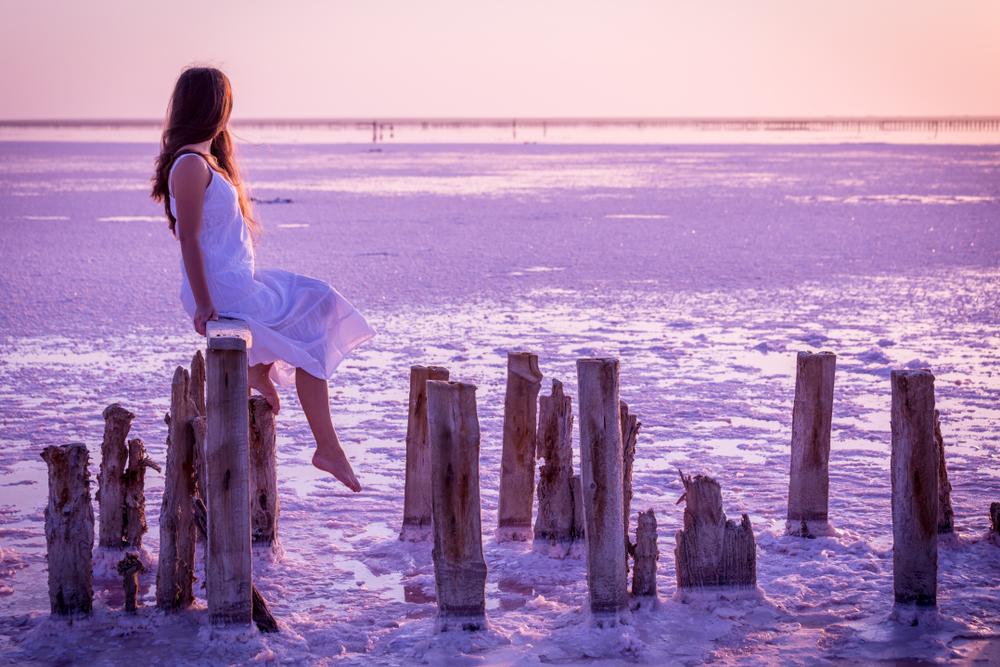 Фотосет на Рожевому озері біля Генгорки може стати прекрасним доповненням відпочинку на Азовському морі