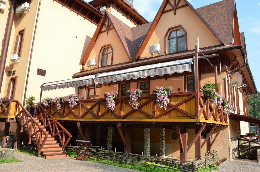 Літня тераса ресторану «Krakow»