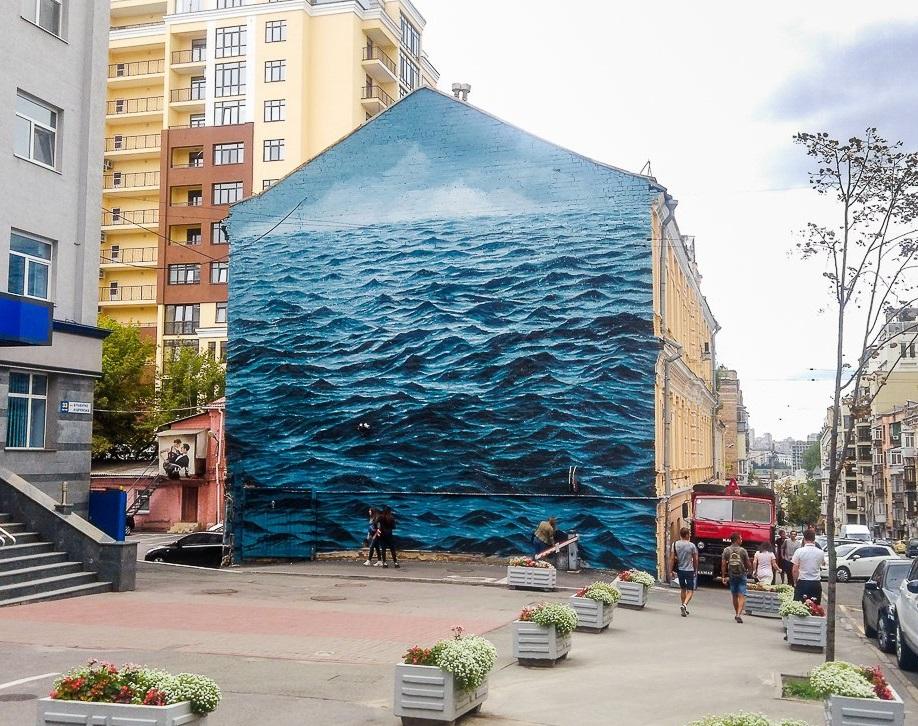Мурал «Українське чорне море»